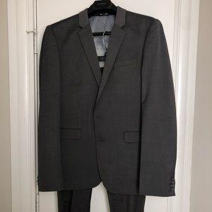Express Men's Gray Suit